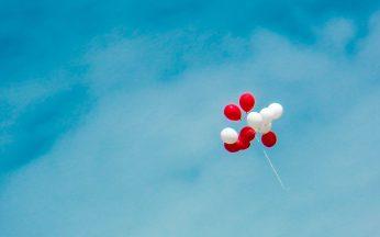 balloons sky